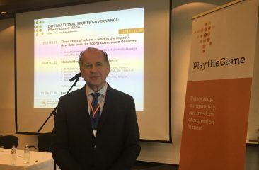 Rossi in Belgium for an International Seminar on Sports Governance